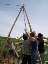 Projet collectif : conception et construction d'une cabane de jardin