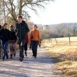 Les FÈVE 2 en visite dans la première des communautés de l'Arche
