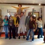 La FEVE 4 en session d'expression de groupe