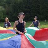 Les fêveurs première année ont parfois besoin d'un parachute !